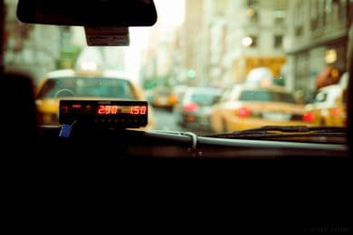Taxieinbauten und Autoelektronik